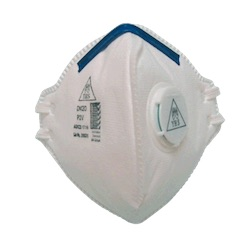 DM20 Flat Fold P2 Mask with Valve