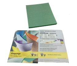 Single Sided Foam Sanding Pad - Super Fine