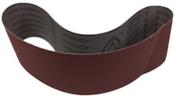 100 x 914 mm 600 grit KLINGSPOR CS310X Sanding Belt
