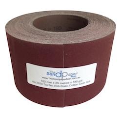102 mm x 25 metre 100 grit Drum Sander Roll
