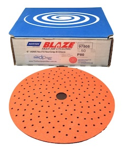 50 - 150 mm x 220 grit BLAZE Cyclonic Hook & Loop Sanding Disc