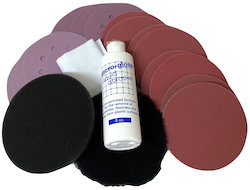 125 mm diameter Epoxy Resin Kit Combo