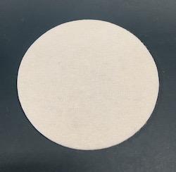 75 mm diameter Lambswool Hook & Loop Sanding and Polishing Disc