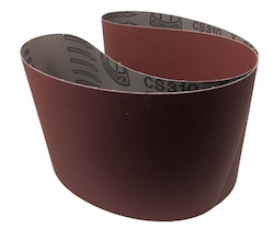 150 x 1220 mm 320 grit KLINGSPOR CS310X Sanding Belt