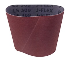 150 x 340 mm 80 grit LS309JF Pneumatic Drum Sanding Belt