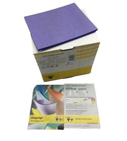 Box of 20, Single Sided Foam Sanding Pad - Micro Fine