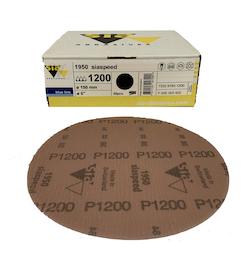 50 - 150 mm x 1500 grit sia 1950 Hook and Loop Sanding disc