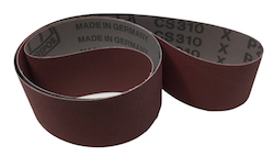 50 x 914 mm 80 grit KLINGSPOR CS310X Sanding Belt