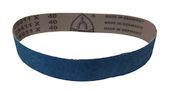 50 x 686 mm 80 grit KLINGSPOR CS411X Sanding Belt