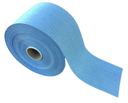 70 mm x 27.43 metre x 120 grit NORTON A975 Dry Ice Adhesive Backed Roll