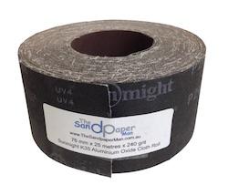 76 mm x 25 metre 240 grit Drum Sander Roll