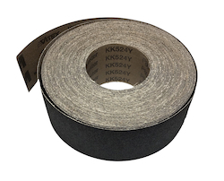 82 mm x 25 metre 120 grit VSM KK711X Cloth Drum Sander Roll