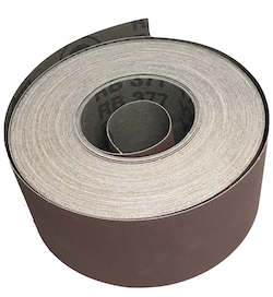 76 mm x 25 metre 320 grit Hermes RB377YX Drum Sander Roll