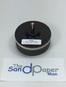 75 mm diameter Hook and Loop Back-up Pad with 6 mm shaft