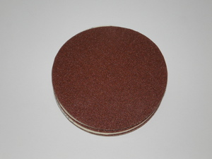 125 mm diameter x 40 grit Norton H231  Hook & Loop disc