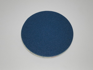 150 mm diameter x 120 grit KLINGSPOR PS21 Adhesive disc