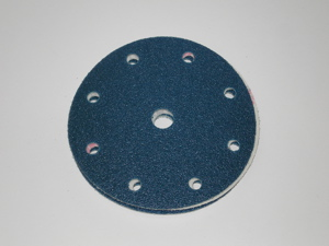 50 - 150 mm 40 grit sia 1815 SIATOP 9 Hole Hook and Loop disc