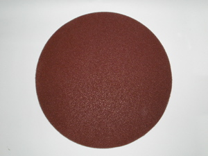 305 mm diameter 120 grit Imperial E28-V Hook and Loop Sanding disc
