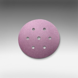 Qty 5 - 150 mm x 400 grit sia 1950 7 Hole Hook & Loop Sanding Disc