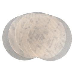 125 mm diameter 80 - 400 grit sianet 7500 Ceramic Hook & Loop disc Combo