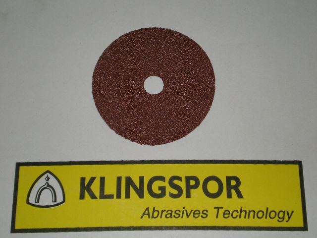 100 mm diameter x 16 mm 120 grit KLINGSPOR CS561