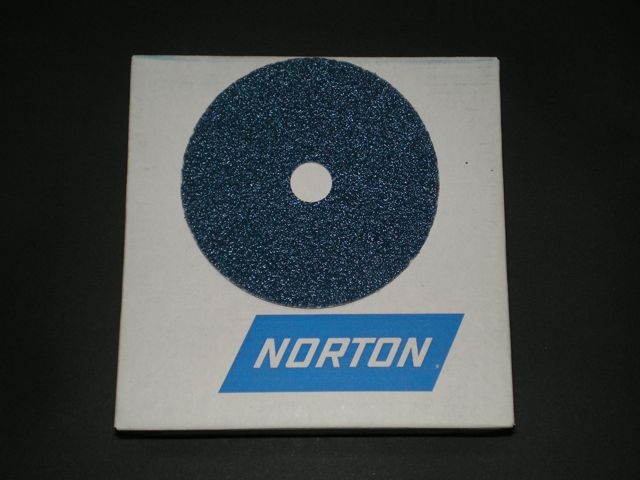 100 mm diameter x 16 mm x 36 grit Norton F827