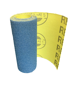 100 mm wide x 1 metre x 120 grit Hermes RB406J Flexible Cloth Roll
