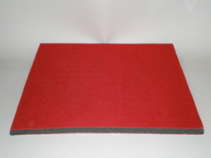 300 mm Square 10 mm Thick Soft Interface Pad