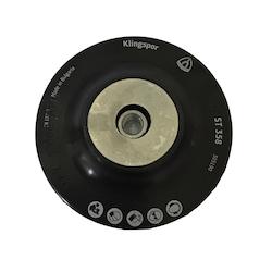 100 mm diameter x 16 mm M10 Fibre Disc Back-up Pad