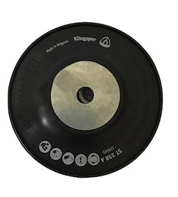 100 mm diameter x 16 mm M10 Fibre Disc Ribbed Back-up Pad