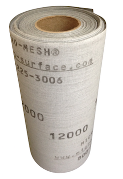 150 mm x 1 metre x 6000 Grade Micro-Mesh Regular Roll