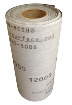 150 mm x 1 metre x 3200 Grade Micro-Mesh Regular Roll