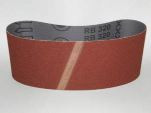 100 x 610 mm 320 grit Portable Sanding Belt