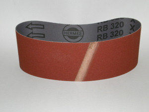 63 x 406 mm 120 grit Portable Sanding Belt
