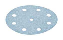 50 - 125 mm 80 grit FESTOOL Granat 9 hole Hook and Loop disc