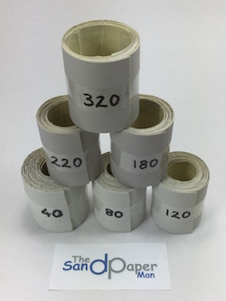 70 mm INDASA Adhesive Backed Starter Roll pack