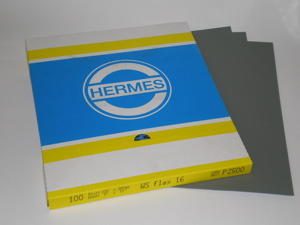 230 x 280 mm 600 grit Hermes WS Flex 16 Wet and Dry Sheet