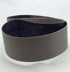 50 x 914 mm x A30/P800 grit 3M 237AA Trizact Belt