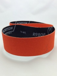 50 x 785 mm x 80 grit Norton R980P BLAZE Belt