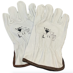 Grey Riggers Gloves - Size Large