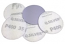 5 - 50 mm diameter x 240 grit Mirka Q Silver Hook & Loop disc