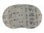 5 - 125 mm x 80 grit sia 7900 sianet siafast disc