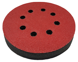 125 mm Diameter x 16 mm 8 Hole Thick Soft Interface Pad