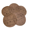 5 - 150 mm x 1500 grit sia 1950 Hook and Loop Sanding disc