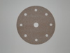 150 mm diameter x 600 grit Norton A275 9 hole Hook & Loop disc
