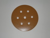 150 mm diameter x 80 grit Astra D 7 hole Hook & Loop disc