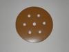 150 mm diameter x 80 grit Astra D 7 hole Hook & Loop disc
