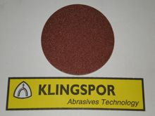 125 mm diameter x 40 grit KLINGSPOR Hook & Loop disc