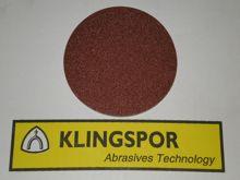 125 mm diameter x 40 grit KLINGSPOR Hook & Loop disc