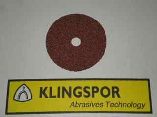 125 mm diameter x 22 mm x 24 grit KLINGSPOR CS561